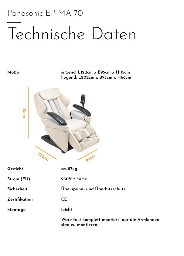 EP MA-70 - Technische Daten