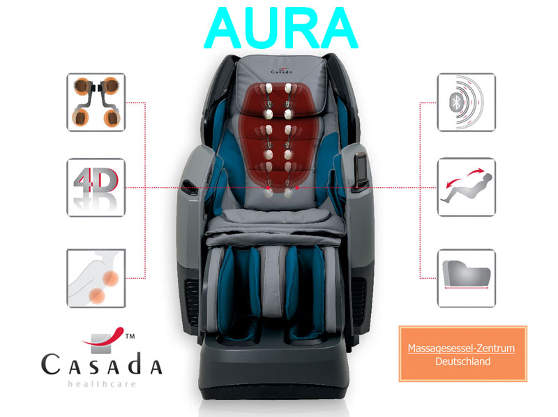 Massagesessel Aura mit Technik