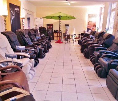Deutschlands größte Massagesessel Ausstellung