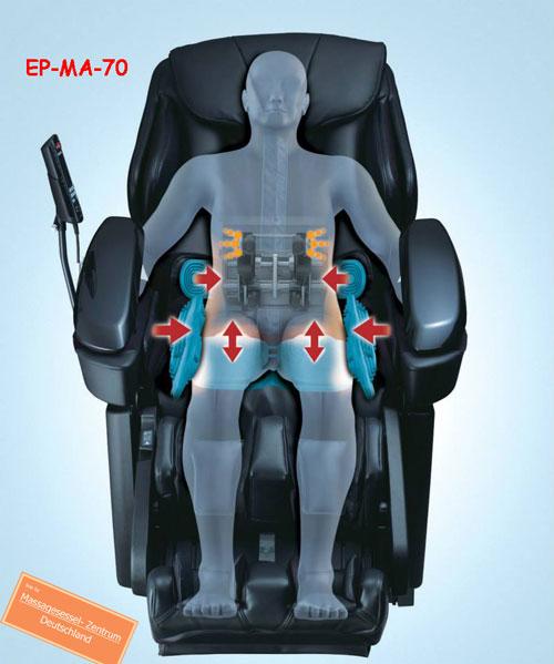 Massagesessel EP-MA-70 Becken-Airbag