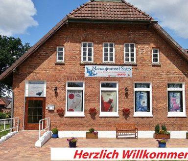 Außenansicht Massagesessel -Zentrum-Deutschland
