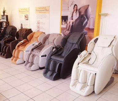 Unser Massagesessel-Showroom 1