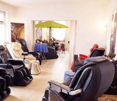 unsere Massagesessel Showroom 3