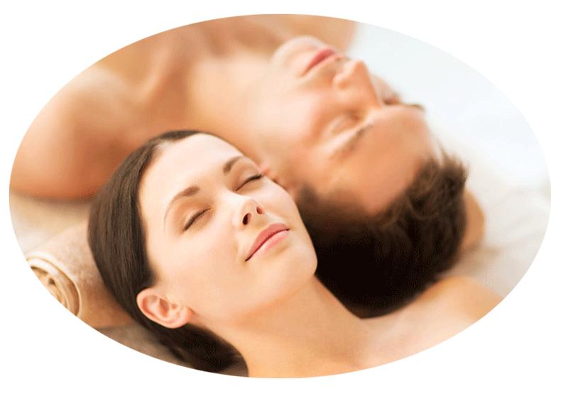 Massagen entspannen