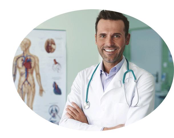 Doktor und Mediziner